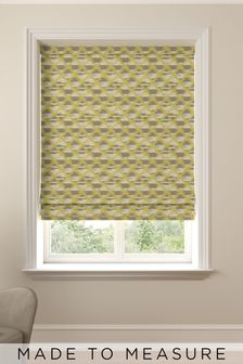 Souky Sunflower Yellow Made To Measure Roman Blind