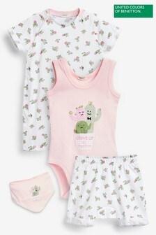 Benetton Pink Baby Character Set