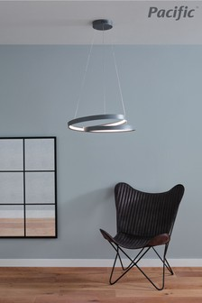 Neptune Grey LED Ring Pendant by Pacific