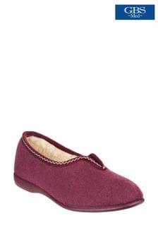 GBS Purple Helsinki Classic Slippers