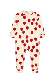 ثوب أطفال لون كريم للبنات البيبي