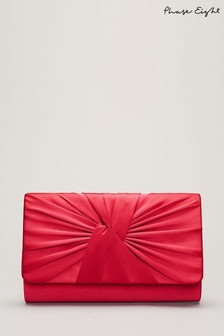 Phase Eight Pink Gemma Clutch Bag