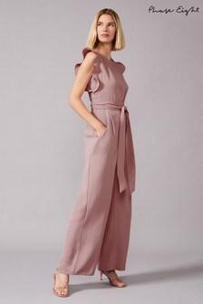 Phase Eight Pink Victoriana Sparkle Jumpsuit