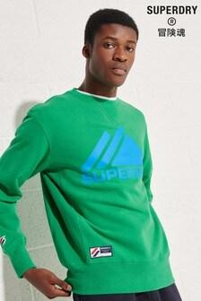 Superdry Mountain Sport Mono Crew Sweatshirt