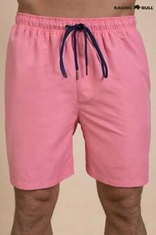 Raging Bull Pink Swim Shorts
