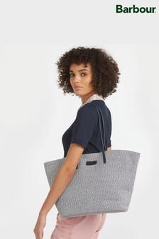 Barbour® Two Tone Braided Straw Christie Beach Bag