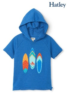 Hatley Blue Surfboards Raglan Hoody