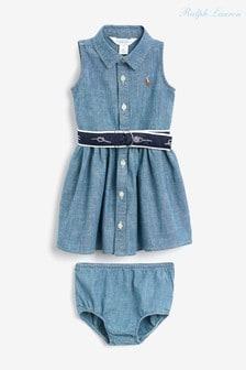 Ralph Lauren Indigo Chambray Dress