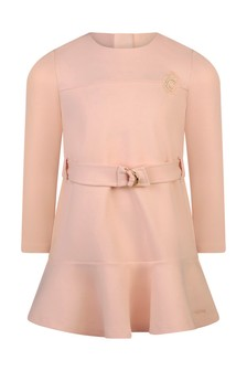 Chloe Kids Girls Pink Milano Dress