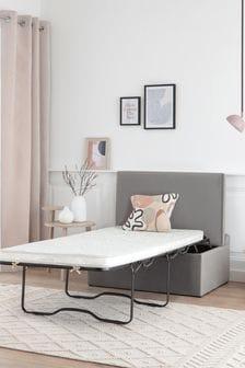 Opulent Velvet Steel Bed In A Box