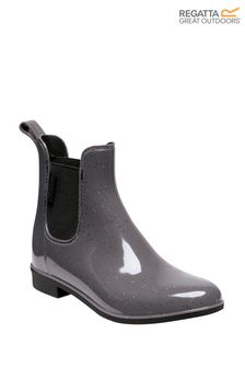 Regatta Grey Lady Harriett Ankle Wellies