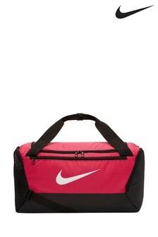 Nike Pink Brasilia S Duffle Bag