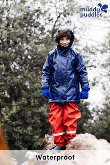 Muddy Puddles Navy Puddleflex Waterproof Insulated Jacket