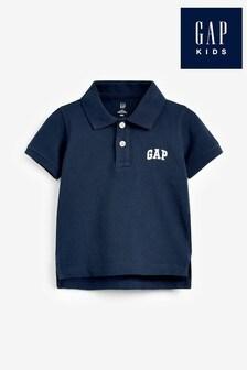 Gap Navy Logo Polo