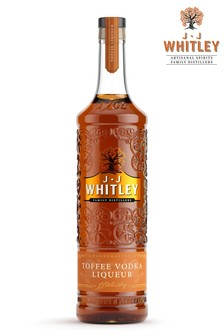 Toffee Vodka Liqueur 70cl by JJ Whitley