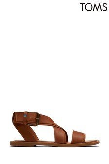 TOMS Leather Sidney Sandals