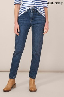 White Stuff Denim Relaxed Slim Jeans
