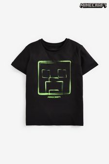 Black Minecraft T-Shirt (4-14yrs)