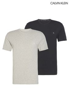 Calvin Klein Grey T-Shirts Two Pack