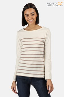 Regatta Cream Ferelith Long Sleeved T-Shirt