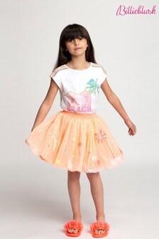 Billieblush Pink Embellished Skirt