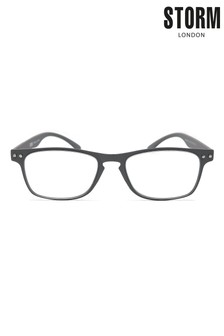 Storm Grey Reading Glasses