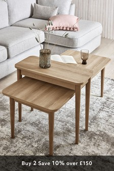 Murphy Set of 2 Nest of Coffee Tables