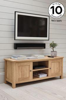Oak Effect Malvern Wide TV Stand
