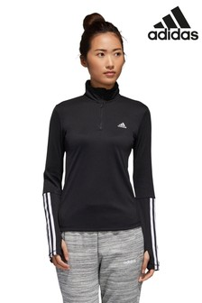 adidas 1/4 Zip Long Sleeve Top