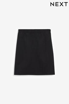 Black Senior Jersey Pencil Skirt (9-16yrs)