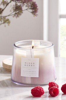 Mixed Berry Lidded Jar Candle