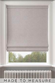 Soho Fog Grey Made To Measure Roman Blind