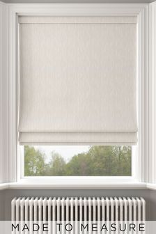 Kally Champagne Cream Made To Measure Roman Blind