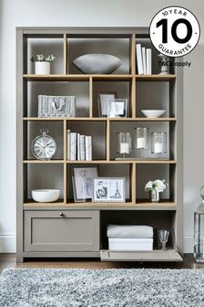 Malvern Dove Grey Display Shelf