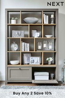 Dove Grey Malvern Display Shelf