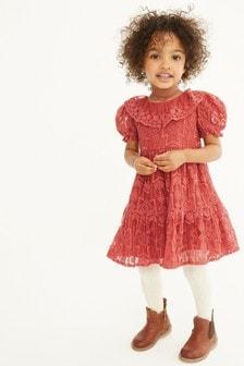 Rust Lace Dress (3mths-7yrs)