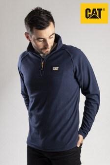 CAT® Blue Fleece Pull Over Sweatshirt