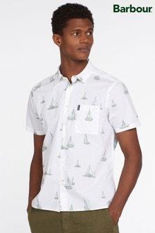 Barbour® Boat Print Short Sleeve Shirt
