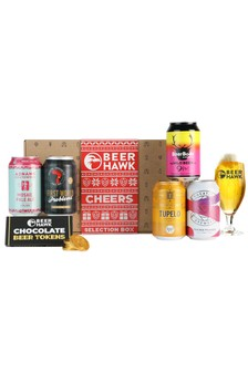 Beer Hawk Festive Cheers Selection Box