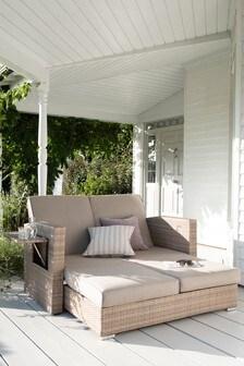 Natural Monaco Modular Sofa Lounger