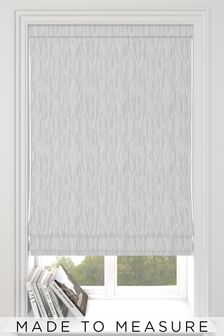 Silver Kally Made To Measure Roman Blind