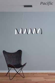 Solaris Electrified LED Spiral Pendant Light by Pacific