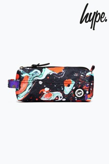 Hype. Red Marble Pencil Case