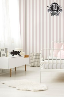 Superfresco Easy Pastel Stripe Wallpaper by Art For The Home