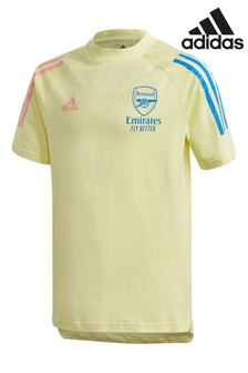 adidas Yellow Arsenal 20/21 Training T-Shirt