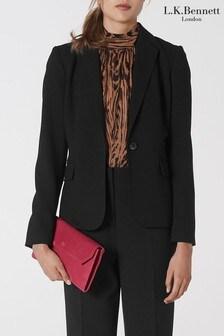 L.K.Bennett Black Frieda Jacket