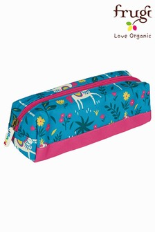Frugi Horses Recycled Polyester Large Pencil Case