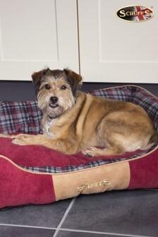 Washable Highland Tartan Medium Breed Dog Bed by Scruffs®