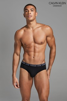 Calvin Klein Black Hip Briefs
