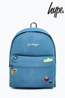 Hype. x Sesame Street Denim Character Backpack